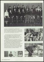 1980 North Central High School Yearbook Page 42 & 43