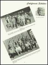 1961 Sonora Union High School Yearbook Page 84 & 85