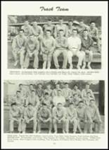 1961 Sonora Union High School Yearbook Page 136 & 137