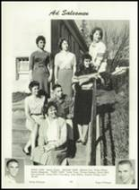 1961 Sonora Union High School Yearbook Page 184 & 185