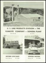 1961 Sonora Union High School Yearbook Page 186 & 187