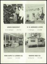 1961 Sonora Union High School Yearbook Page 196 & 197