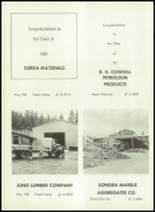 1961 Sonora Union High School Yearbook Page 198 & 199