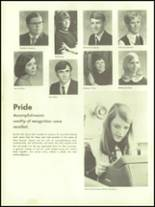 1971 West Branch High School Yearbook Page 156 & 157
