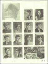 1971 West Branch High School Yearbook Page 158 & 159