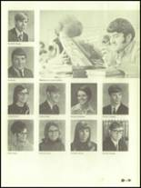 1971 West Branch High School Yearbook Page 166 & 167