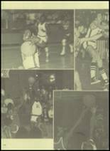 1977 Pendleton High School Yearbook Page 132 & 133