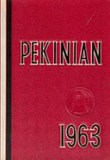 1963 Yearbook Pekin Community High School