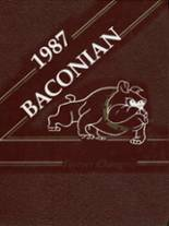 1987 Yearbook Bridgeton High School