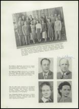1951 Burley High School Yearbook Page 14 & 15