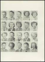 1951 Burley High School Yearbook Page 50 & 51