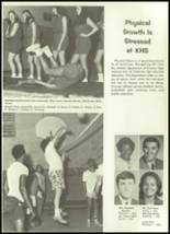 1971 Kinston High School Yearbook Page 36 & 37