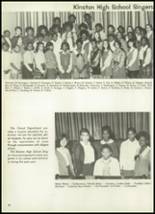 1971 Kinston High School Yearbook Page 60 & 61