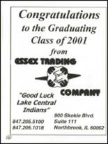 2001 Lake Central High School Yearbook Page 314 & 315