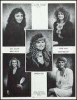 1991 Knoxville High School Yearbook Page 134 & 135
