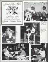 1991 Knoxville High School Yearbook Page 156 & 157