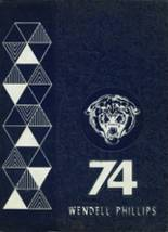 1974 Yearbook Wendell Phillips High School