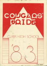 1983 Yearbook Clark Freshman High School