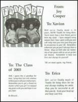 2003 Clinton Christian School Yearbook Page 22 & 23