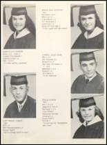 1961 Clyde High School Yearbook Page 18 & 19