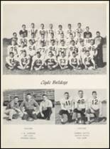 1961 Clyde High School Yearbook Page 60 & 61