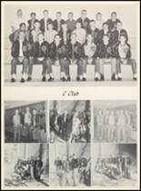 1961 Clyde High School Yearbook Page 74 & 75