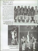 1985 Central High School Yearbook Page 86 & 87
