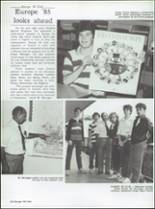 1985 Central High School Yearbook Page 136 & 137