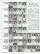 1985 Central High School Yearbook Page 210 & 211