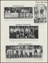 1966 Long Beach Polytechnic High School Yearbook Page 46 & 47