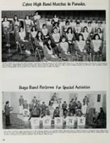 1973 Cobre High School Yearbook Page 48 & 49