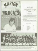 1979 Marion High School Yearbook Page 56 & 57