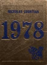 1978 Yearbook Nicholas High School