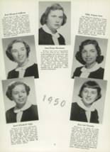 1950 Mt. St. Mary Academy Yearbook Page 20 & 21