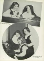 1950 Mt. St. Mary Academy Yearbook Page 34 & 35