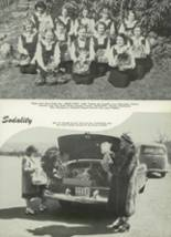 1950 Mt. St. Mary Academy Yearbook Page 86 & 87