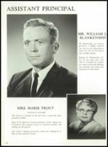 1966 Denison High School Yearbook Page 16 & 17