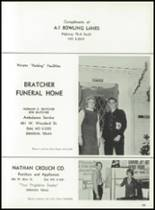 1966 Denison High School Yearbook Page 186 & 187