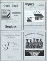 1993 John Glenn High School Yearbook Page 180 & 181