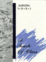1991 Yearbook Rice Lake High School