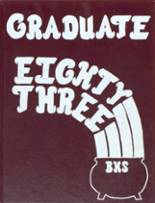 1983 Yearbook Bangor High School