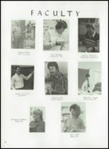 1984 Princeton High School Yearbook Page 62 & 63