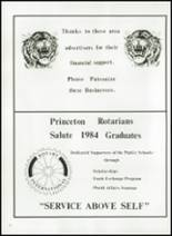 1984 Princeton High School Yearbook Page 66 & 67
