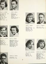 1954 Montrose High School Yearbook Page 20 & 21