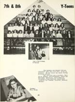 1954 Montrose High School Yearbook Page 66 & 67