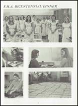 1976 Columbus High School Yearbook Page 40 & 41
