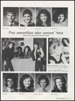 1986 Seminole High School Yearbook Page 122 & 123