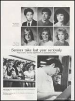 1986 Seminole High School Yearbook Page 126 & 127