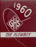 1960 Yearbook Gober High School