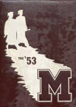 1953 Yearbook Moline High School